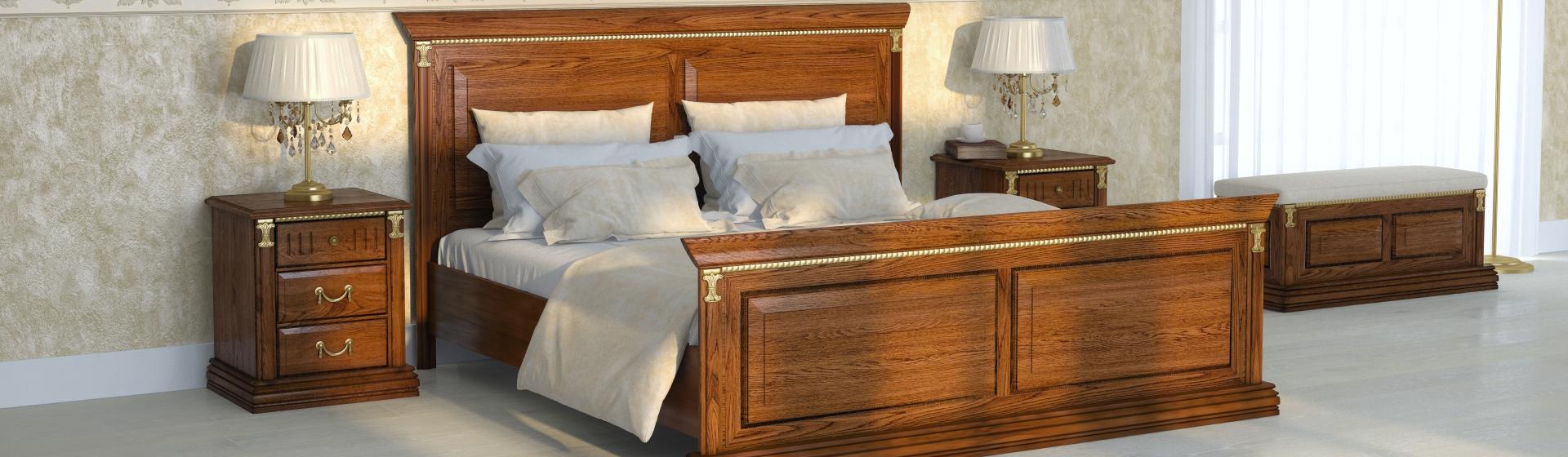 Мебель для спальни из массива дерева