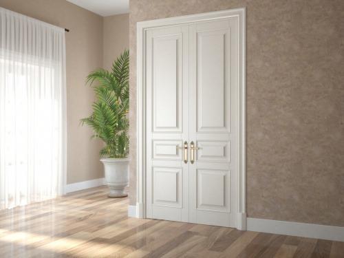 Комплект дверей из МДФ и массива дуба 6