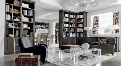 Шкаф для книг из МДФ