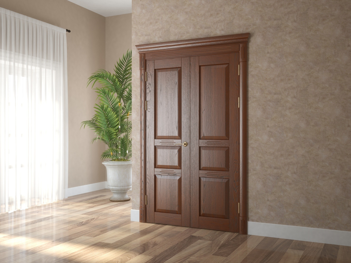 Комплект дверей из массива и шпона дуба 7