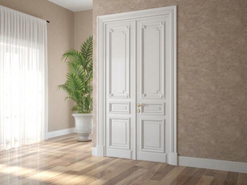 Комплект дверей из МДФ и массива дуба 4