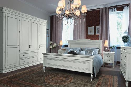 Шкаф для спальни из МДФ с выдвижными ящиками