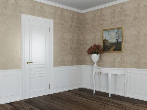 Стеновая панель МДФ с декоративным багетом 4
