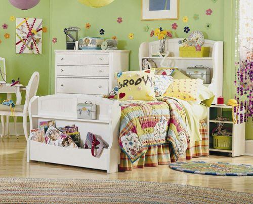 Детская из массива в спальню для девочки