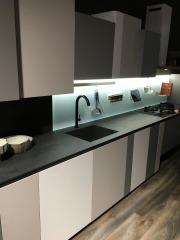 Оттенки серого на кухне