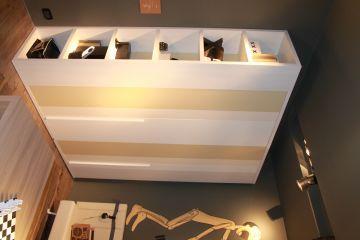 Шкаф из МДФ в детской комнате 1