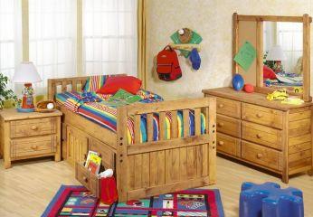 Мебель для детской из массива сосны