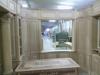 Процесс изготовления классического кабинета