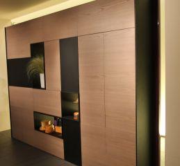 Шкаф с отделениями для декора