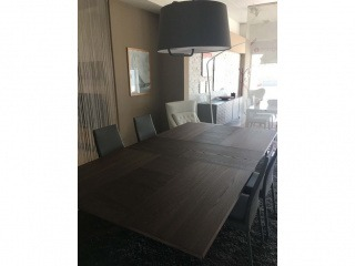 Обеденный стол шпон дуба