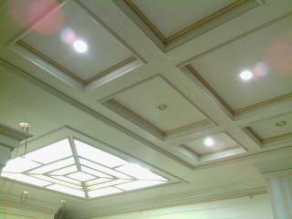 Кессонный потолок из МДФ 3