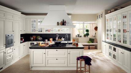 Кухня в стиле прованс из массива дуба