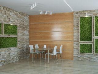 Стеновая панель из шпона сосны 2
