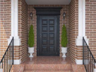 Входная дверь из массива дуба 5