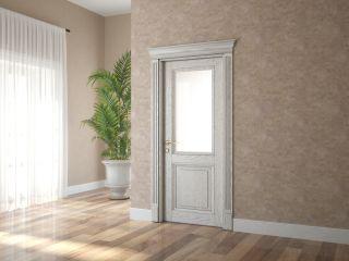 Дверь из массива и шпона дуба 2