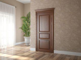 Дверь из массива и шпона дуба 3